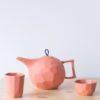 porcelain_and_ceramics, sets-en, interior-design, TEA SET LIMBO TERRACOTTA - QY1C8558 2 100x100