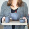 porzellan_und_keramik, wohnen, sets, TEESET LIMBO GRAPHITGRAU - QY1C8595 100x100
