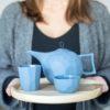 porzellan_und_keramik, wohnen, sets, TEESET LIMBO BLAU - QY1C8603 100x100