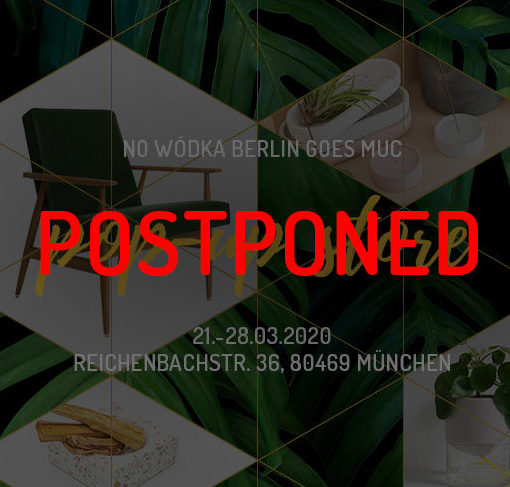 NO WÓDKA Pop-Up Store in München