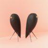 home-accessories, wooden-objects, interior-design, BLACKBIRD - CHARRED ASH FIGURINE - blackbird 1 100x100