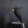 home-accessories, wooden-objects, interior-design, BLACKBIRD - CHARRED ASH FIGURINE - blackbird 3 100x100