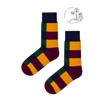 organic-socks, bekleidung-en, clothes-accessories, ORGANIC COTTON SOCKS CHECKER - checker organic 350x350