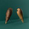 home-accessories, wooden-objects, interior-design, BIRD - WALNUT FIGURINE - walnut 1 100x100