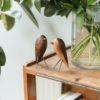 home-accessories, wooden-objects, interior-design, BIRD - WALNUT FIGURINE - walnut 2 100x100