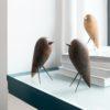 home-accessories, wooden-objects, interior-design, BIRD - WALNUT FIGURINE - walnut 4 100x100