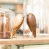 home-accessories, wooden-objects, interior-design, BIRD - WALNUT FIGURINE - walnut 5 100x100