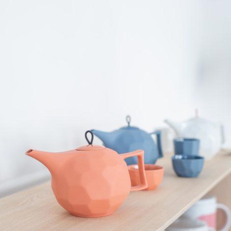 porzellan_und_keramik, wohnen, sets, TEESET LIMBO TERRACOTTA - 11 470x470