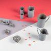 porzellan_und_keramik, wohnen, sets, HOME LAB SET SCHWARZ - QY1C7607 100x100