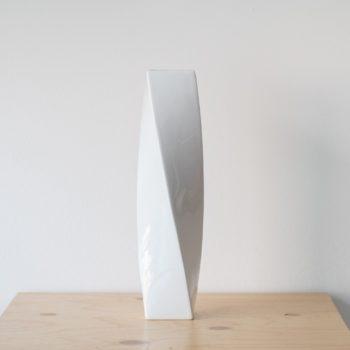 vasen, porzellan_und_keramik, wohnen, KLEINE VASE FLY'S EYE | WEIß MIT GOLDENEM RAND - QY1C8688 2 350x350
