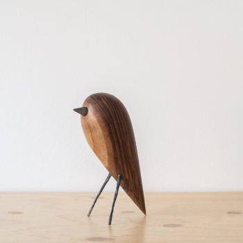 wooden-objects, interior-design, home-accessories, BIRD - WALNUT FIGURINE - QY1C8695 2 350x350