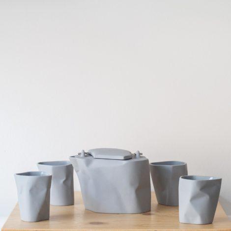 porzellan_und_keramik, wohnen, sets, TEESET BENT | LICHTGRAU - QY1C8711 2 470x470