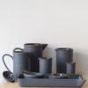 porzellan_und_keramik, wohnen, sets, HOME LAB SET SCHWARZ - QY1C8725 2 100x100