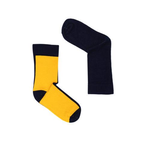 bekleidung, socken, accessoires-bekleidung, SOCKEN TAG UND NACHT - polnapol yellownavy 470x470