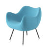 armchairs, furniture, interior-design, RM58 SOFT | SYNERGY - rm58 soft SY 09 H 100x100