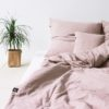 home-fabrics, interior-design, bed-linen, BED LINEN PURE DUSTY PINK - 1.1 100x100