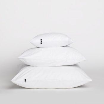 pillows, interior-design, home-fabrics, PILLOW CASE PURE WHITE - 2x Poszewka z czystej bawelny brudny roz 16446 1200 350x350