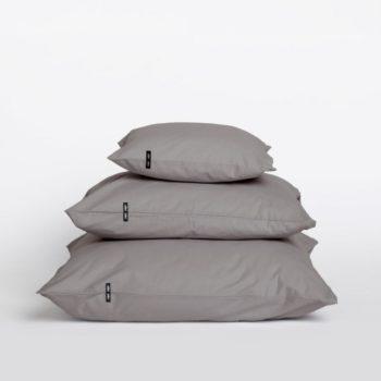 pillows, interior-design, home-fabrics, PILLOW CASE PURE DARK GREY - 2x Poszewka z czystej bawelny pastelowy blekit 16422 1200 350x350