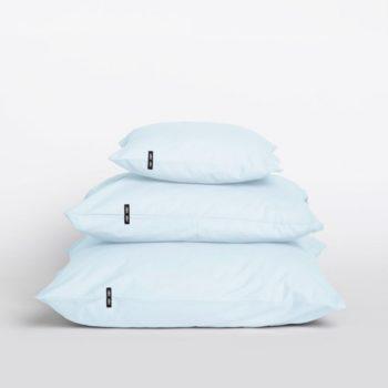 pillows, interior-design, home-fabrics, PILLOW CASE PURE PASTEL BLUE - 2x Poszewka z czystej bawelny przygaszony granat 16416 1200 350x350