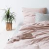 home-fabrics, interior-design, bed-linen, BED LINEN PURE DUSTY PINK - 3.3 100x100