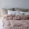 home-fabrics, interior-design, bed-linen, BED LINEN PURE DUSTY PINK - 4.4 100x100