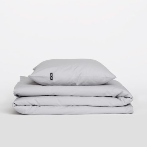home-fabrics, interior-design, bed-linen, BED LINEN PURE LIGHT GREY - 6.6 470x470