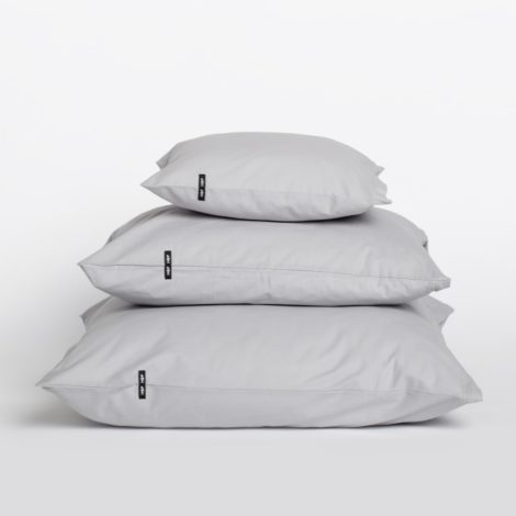 home-fabrics, pillows, interior-design, PILLOW CASE PURE LIGHT GREY - 9.9 470x470