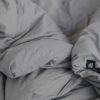 wohntextilien, wohnen, bettwaesche, BETTWÄSCHE PURE DARK GREY - HOP Design Pure Cotton Bedding Dark Gray 2 100x100