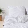 home-fabrics, interior-design, bed-linen, BED LINEN PURE WHITE - HOP Design Pure Cotton Bedding White 2 100x100