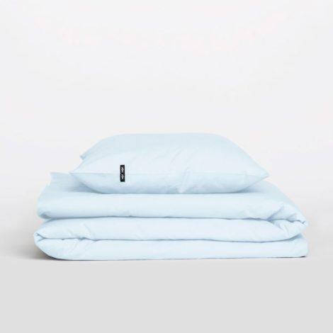 home-fabrics, interior-design, bed-linen, BED LINEN PURE PASTEL BLUE - Poszwa na kołdrę PURE pastelowy błękit1 470x470