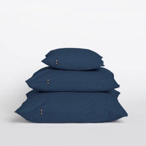 home-fabrics, pillows, interior-design, PILLOW CASE PURE OBSIDIAN BLUE - Przescieradlo z czystej bawelny przygaszony granat 16410 1200 470x470