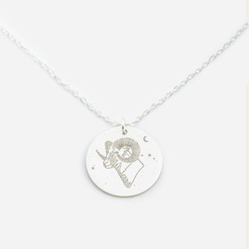 jewellery, pendants, NECKLACE MY ZODIAC VIRGO SILVER - anker baran sr zbl 350x350