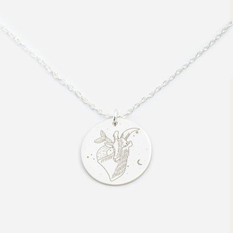 jewellery, pendants, NECKLACE MY ZODIAC CAPRICORN SILVER - anker kozi sr zbl 470x470