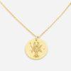 jewellery, pendants, NECKLACE MY ZODIAC CANCER PLATED WITH GOLD - anker rak zl zbl 100x100