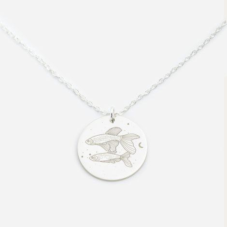 jewellery, pendants, NECKLACE MY ZODIAC PISCES SILVER - anker ryby sr zbl 470x470