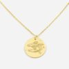 jewellery, pendants, NECKLACE MY ZODIAC PISCES PLATED WITH GOLD - anker ryby zl zbl 100x100