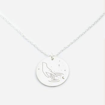 pendants, jewellery, NECKLACE MY ZODIAC AQUARIUS SILVER - anker wodn sr zbl 350x350