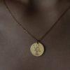 jewellery, pendants, NECKLACE MY ZODIAC CANCER PLATED WITH GOLD - rak zl 100x100