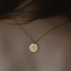 jewellery, pendants, NECKLACE MY ZODIAC PISCES PLATED WITH GOLD - ryby zl 100x100
