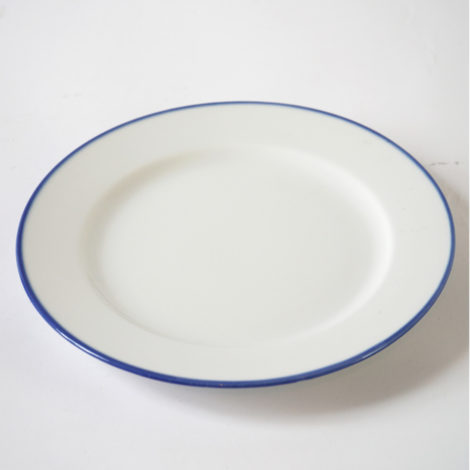 porcelain_and_ceramics, plates, interior-design, PLATTER 32CM BLUE LINE - BL półmisek 32 470x470