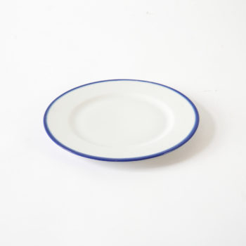 porcelain_and_ceramics, plates, interior-design, BREAKFAST PLATE 21CM BLUE LINE - BL talerz 22 350x350