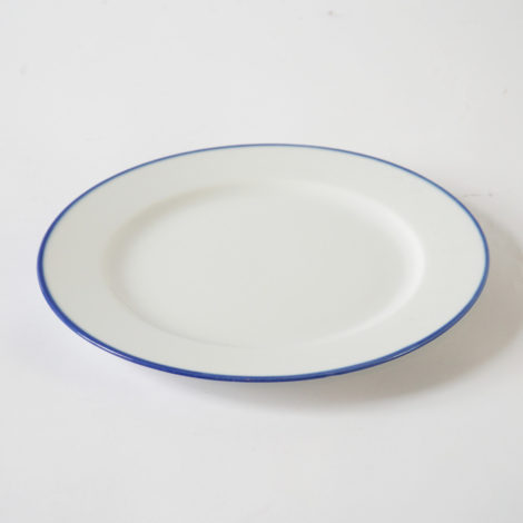 porcelain_and_ceramics, plates, interior-design, DINNER PLATE 26CM BLUE LINE - BL talerz 26 470x470