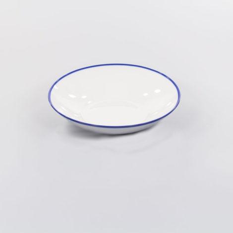 porcelain_and_ceramics, plates, interior-design, SOUP PLATE 21,5CM BLUE LINE - Blue Line g boki 470x470