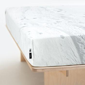 wedding-gifts, interior-design, home-fabrics, spannbettlacken-en, HAYKA SNOW FITTED SHEET - BEDSHEET SNOW 150 350x350
