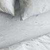 home-fabrics, wedding-gifts, interior-design, spannbettlacken-en, HAYKA SNOW FITTED SHEET - sheet 1 150 100x100