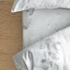 wohntextilien, wohnen, spannbettlacken, hochzeitsgeschenke, HAYKA SCHNEE SPANNBETTLAKEN - sheet 6 150 100x100