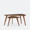 tische, mobel, wohnen, 366 BEISTELLTISCH-SET - 366 Concept 366 Triangle Coffee Table W03 Set 100x100