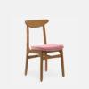 stuhle, mobel, wohnen, STUHL 200-190 MIX VELVET - 366 Concept 200 190 Chair Mix W03 Velvet Powder Pink 100x100