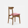 stuhle, mobel, wohnen, STUHL 200-190 MIX VELVET - 366 Concept 200 190 Chair Mix W03 Velvet Powder Pink back 100x100