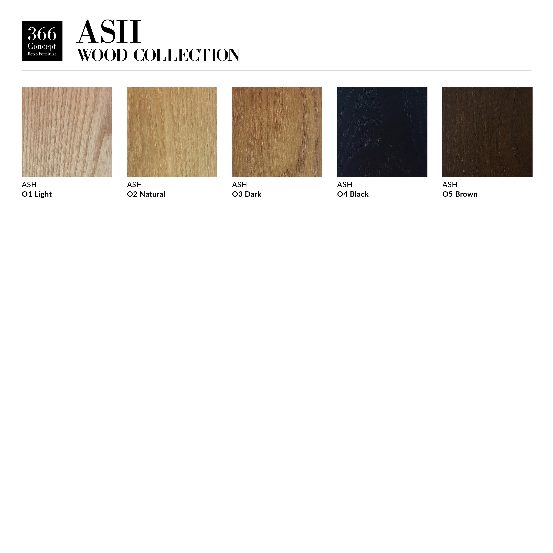 366 Concept Ash Wood Color Pallet